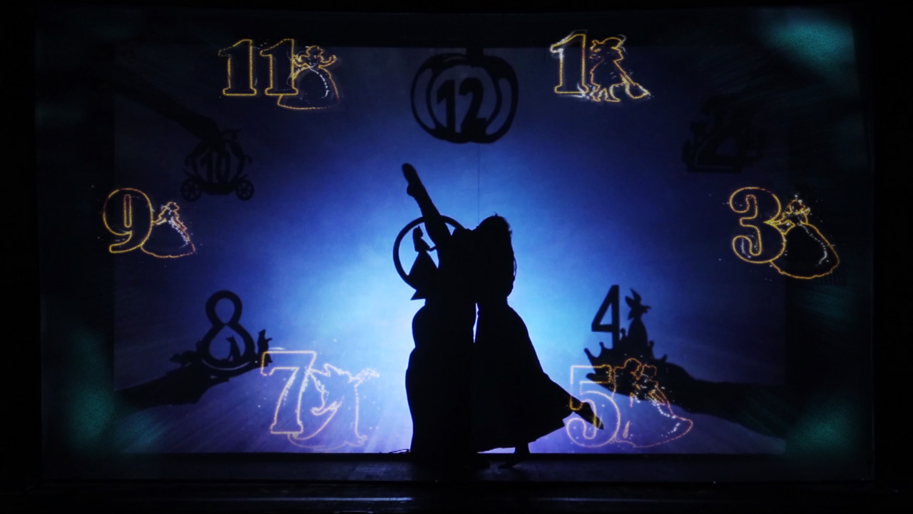 Shadow theatre Delight - 3D show Cindeella